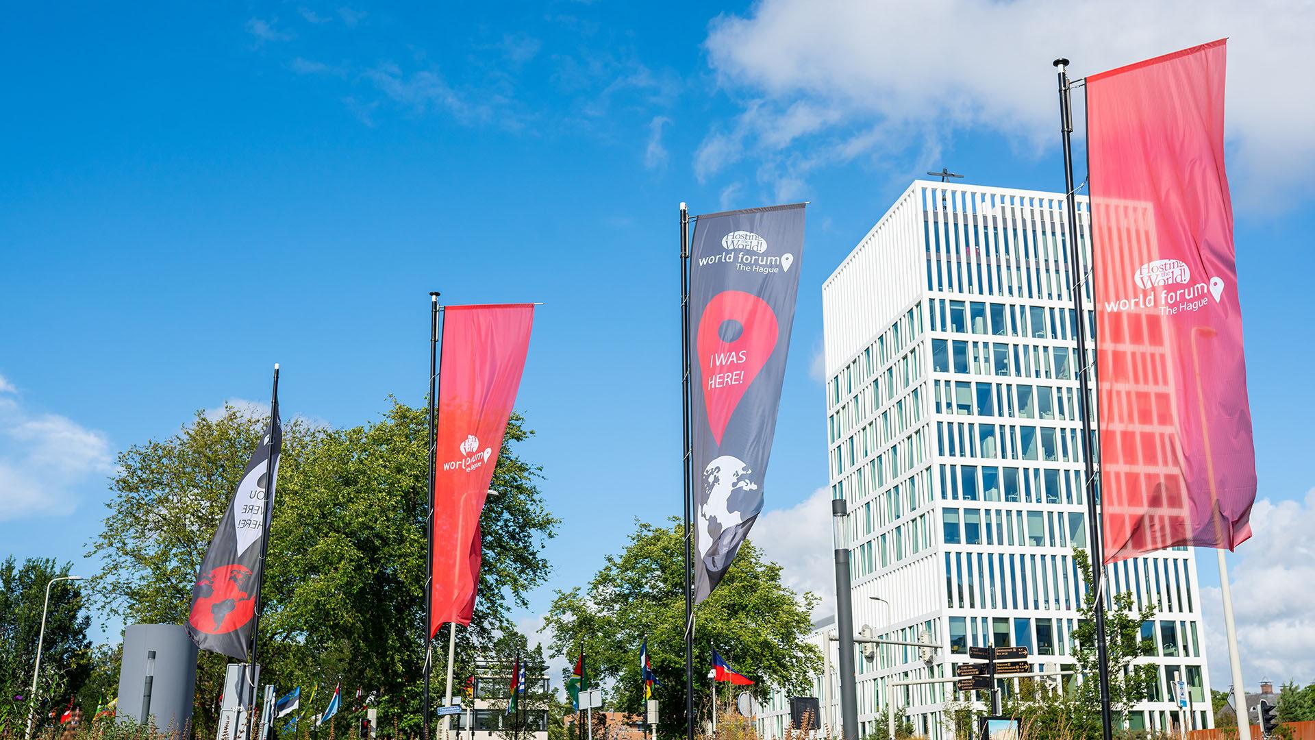 """World Forum The Hague concludeert: """"onze locatie is niet langer ons enige product"""" en introduceert Online Participatie"""